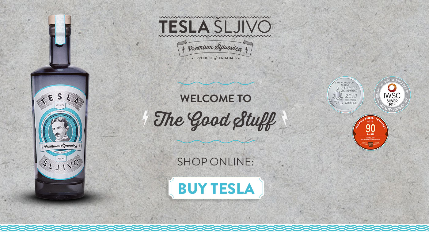 TESLA SLJIVO – The Good Stuff